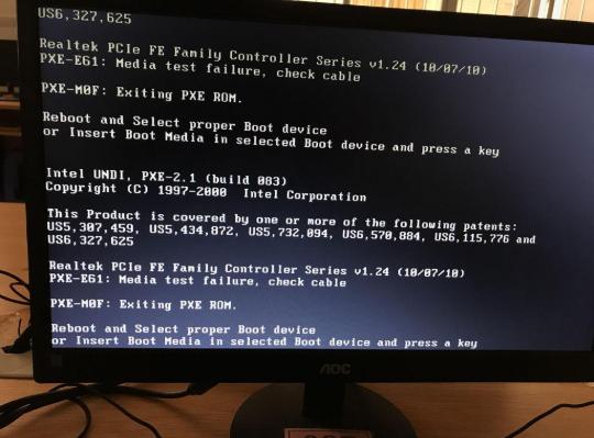 电脑出现黑屏