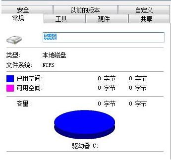 误删系统文件也会导致C盘变成0字节